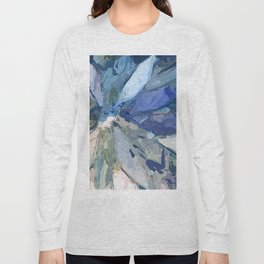 412 - Abstract Colour Design Long Sleeve T-shirt