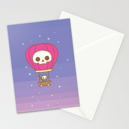 Hot Air Balloon Rides with the Reaper Stationery Cards