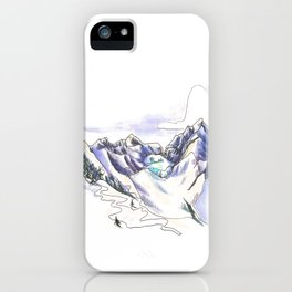 Seracs at Sunste iPhone Case