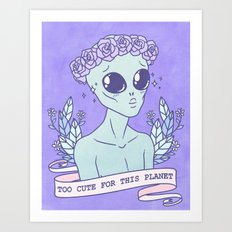 Too Cute Art Print
