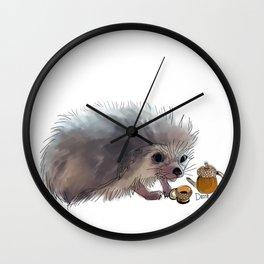 Acorn Tea Wall Clock