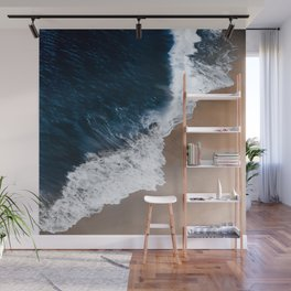 Even the biggest waves... Wall Mural