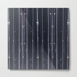 Bambus patern texture abstract Metal Print