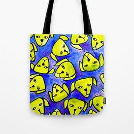 Dog Heads Tote Bag