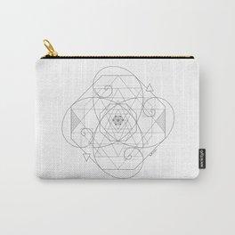 Fibonacci Geometric Mandala Carry-All Pouch