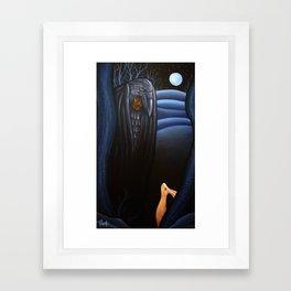 Deep In A Winter Wood Framed Art Print