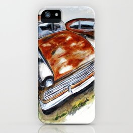 Junk Car No. 10 iPhone Case