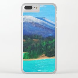 Emerald Lake, Yukon Clear iPhone Case