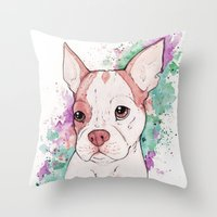 butcher billy Throw Pillows featuring Billy by Soryane