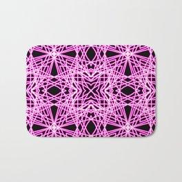 Pink Chaos 7 Bath Mat