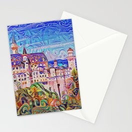 Neuschwanstein Gingerbread and Candy Stationery Cards