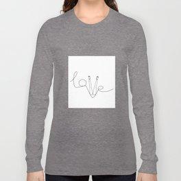 Man & LoveMe Long Sleeve T-shirt
