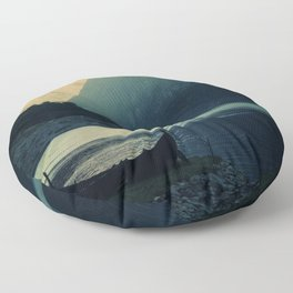 mountains VI Floor Pillow