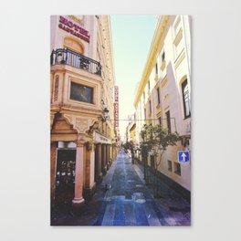 Hotel Santander Canvas Print