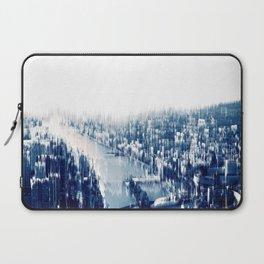 Distorted Paris Laptop Sleeve