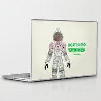 ripley Laptop & iPad Skins featuring Nostromo Spacesuit Alien by Justin Cybulski