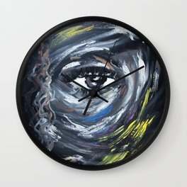Eye on my Mood Wall Clock