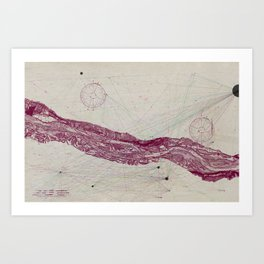We All Have a River to Cross Art Print