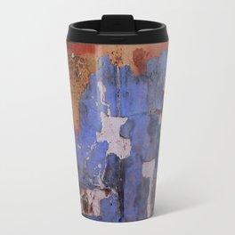Abstract wall patchwork painting Travel Mug