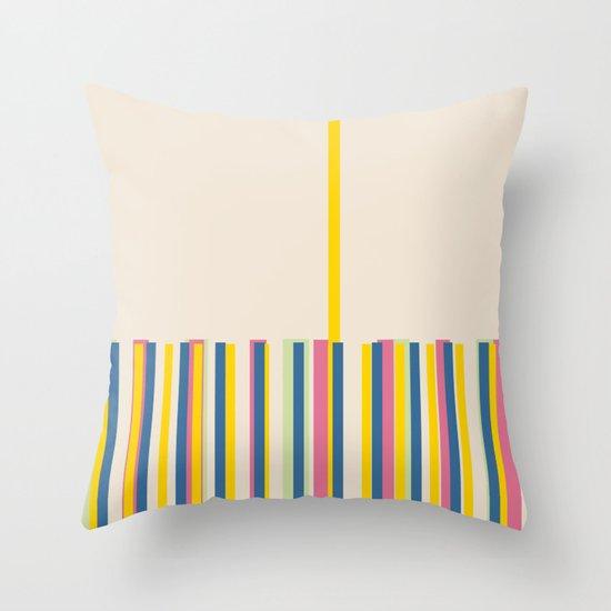 TAKE OFF Throw Pillow