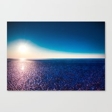 Glowing Beach Canvas Print