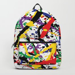 Pollock Remembered by Kathy Morton Stanion Backpack