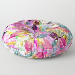 Symphony of Petals Floor Pillow