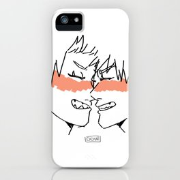 Bakushima SMILE iPhone Case