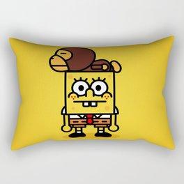 sponge new fun cartoon style sticker iphone cover case wallet bob Rectangular Pillow