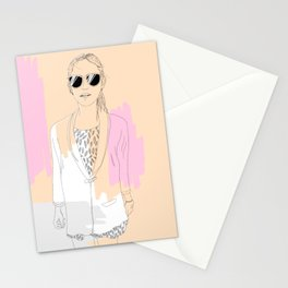 Precious Lady Stationery Cards