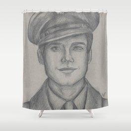 Sgt. James Barnes Shower Curtain