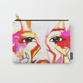 rainbow face oil reworked Carry-All Pouch