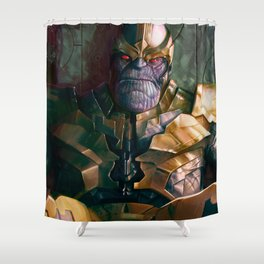 Thanos: Infinity Gauntlet  Shower Curtain