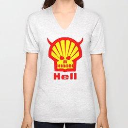 HELL Unisex V-Neck