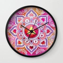 A Legendary Zelda Mandala Wall Clock