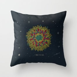 3. I think I'm in love Throw Pillow