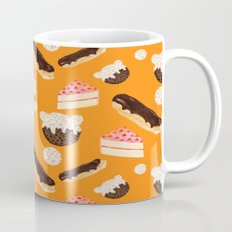 sweet things (on orange) Mug