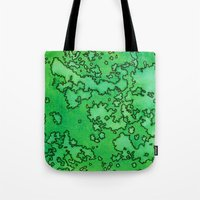 ruben ireland Tote Bags featuring Ireland by Andrea Gingerich