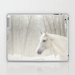 Domino in the snow Laptop & iPad Skin