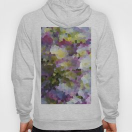 Crystallized Purple Hydrangea Hoody