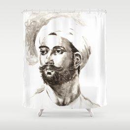 Greek Hero Shower Curtain