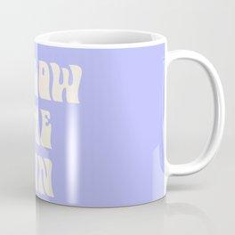 follow the sun - purple Coffee Mug