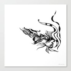 Dragon — Alternative t-shirt style (small image) Canvas Print