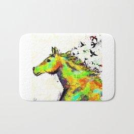 A Horse's Spirit Bath Mat
