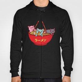 Kawaii Anime Cat Shirt - Funny Adorable Japanese Illustration Hoody