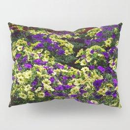 Waves of Petunias Pillow Sham