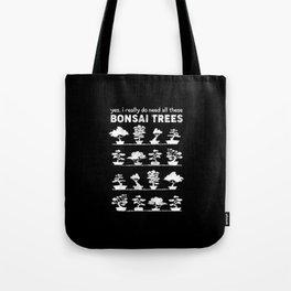 Bonsai Tree Care Penjing Gardening Gift Tote Bag