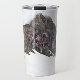 Mountain in Glacier Travel Mug
