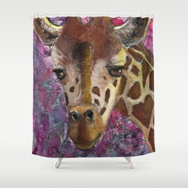 Journey at Dawn Shower Curtain