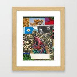Mrs Kava Framed Art Print